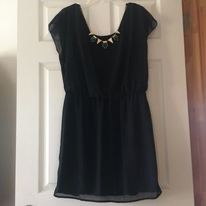 NWT City Triangles black dress